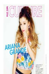 Ariana Grande - Elle Girl Japan Magazine April 2014 Cover