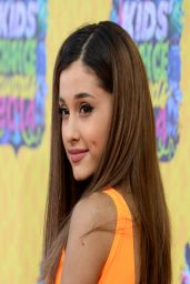 Ariana Grande Wearing Aiisha Ramadan Dress - Kids' Choice Awards 2014