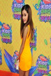 Ariana Grande Wearing Aiisha Ramadan Dress - Kids' Choice Awards 2014