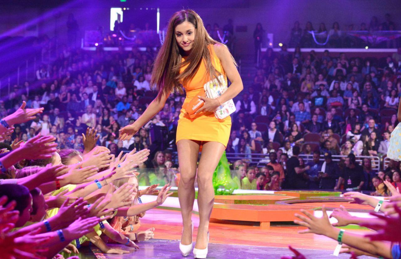 Ariana Grande Wearing Aiisha Ramadan Dress - Kids' Choice ...