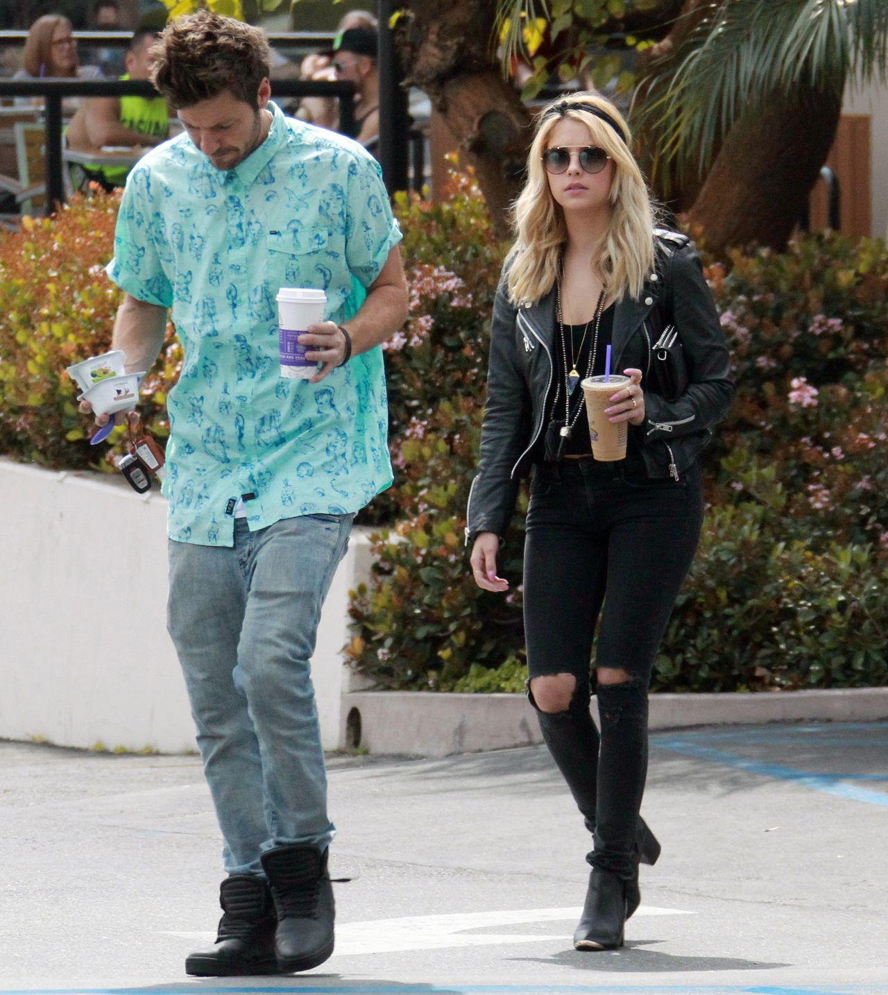 Ashley Benson - Out in Hollywood - March 2014