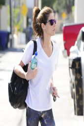 Ashley Greene Gym Style - Out in West Hollywood - March 2014