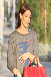 Ashley Greene Street Style - Out in West Hollywood - March 2014