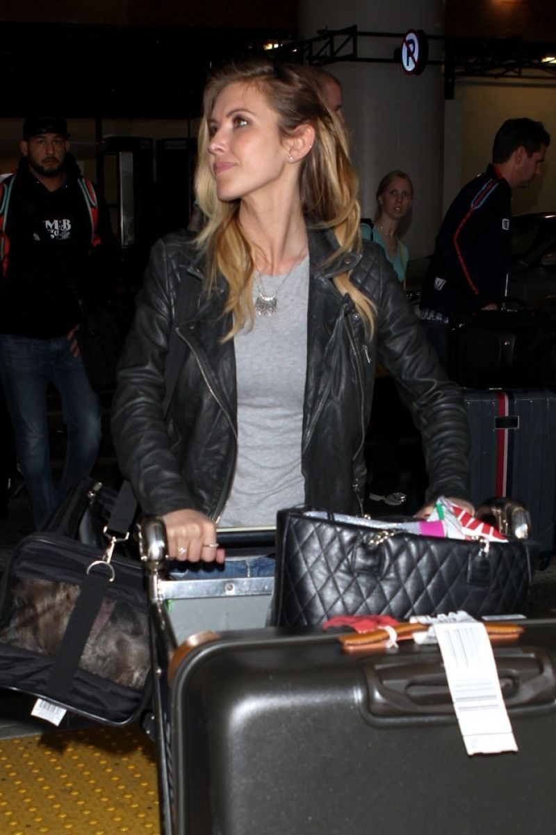 Audrina Patridge Lax Airport March 2014