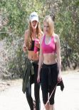 Bella Thorne - Hiking in Runyon Canyon, March 2014