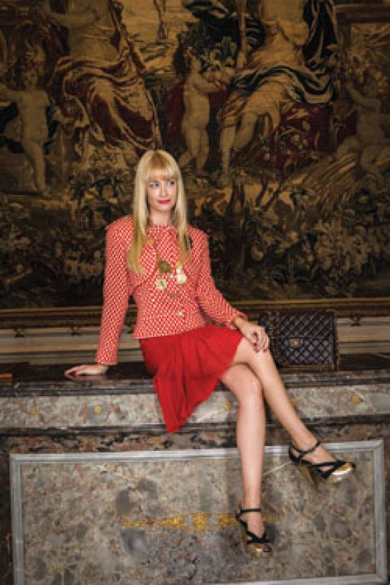 Beth Behrs Cbs Watch Magazine April 2014 Issue