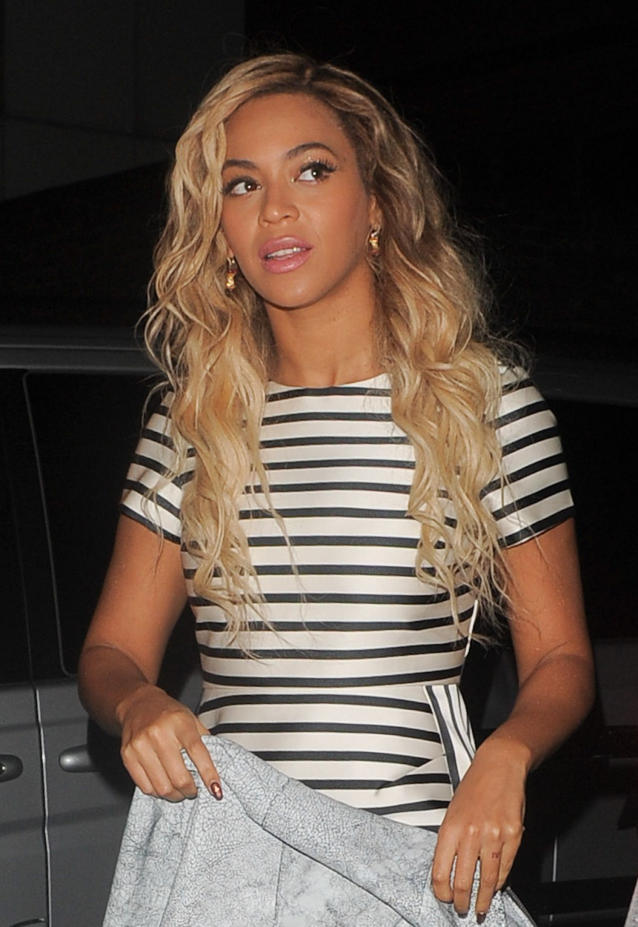 Beyonce Night Out Style - The Arts Club in Mayfair
