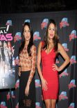 Brianna & Stephanie Garcia at Planet Hollywood Times Square - Promoting their E! series