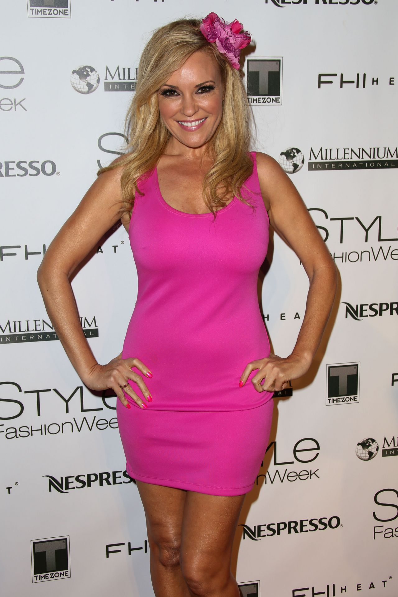 Bridget Marquardt Style Fashion Week At L A Live Event Deck