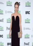 Brie Larson Wearing Maison Martin Margiela Dress - 2014 Film Independent Spirit Awards
