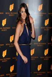Brooke Vincent - 2014 RTS Awards in London