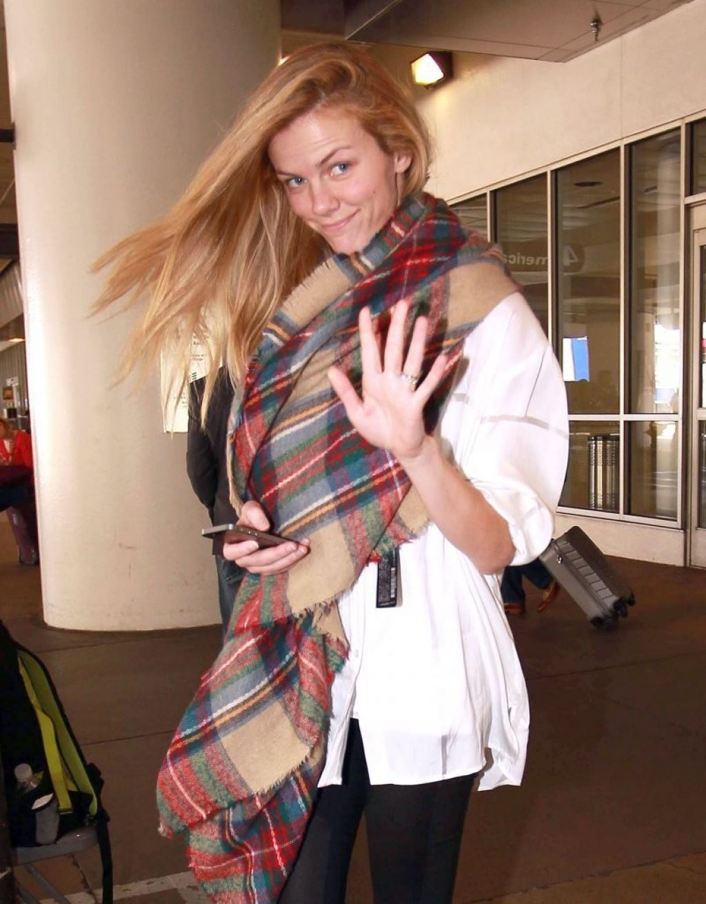 Brooklyn Decker at LAX Airport - March 2014
