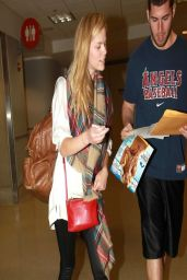 Brooklyn Decker at LAX Airport - March 2014