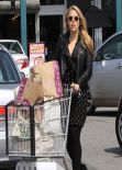 Busy Philipps Street Style - Grocery Shopping at Whole Foods in West Hollywood