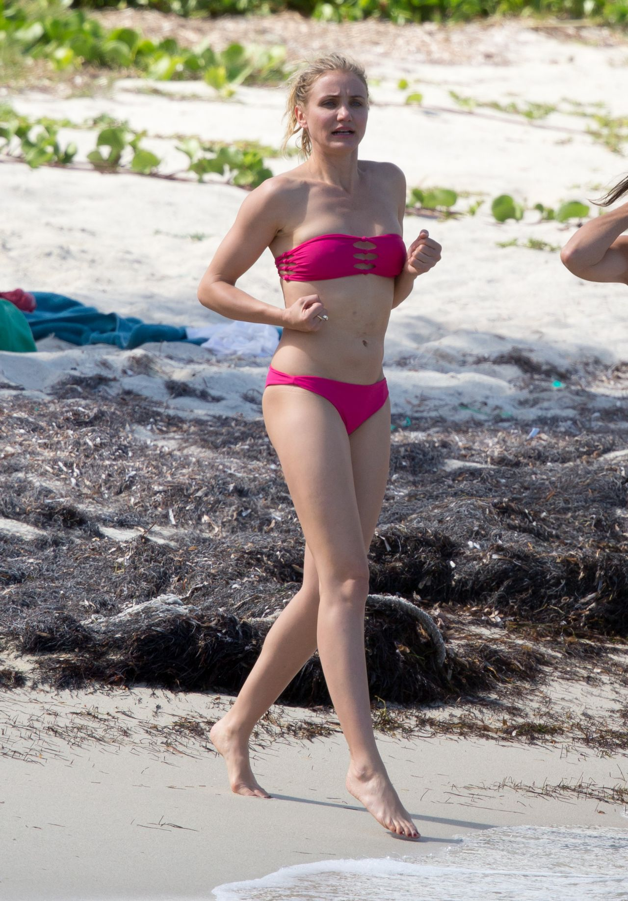 Cameron Diaz in a Bikini in the Caribbean - March 2014