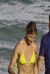 Cameron Diaz in Yellow Bikini - South Beach (July 2011)