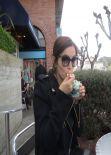 Camilla Belle - Ferragamo Photo Diary - March 2014