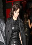 Camilla Belle Night Out Style - Leaving Chi Lin Restaurant West Hollywood, March 2014