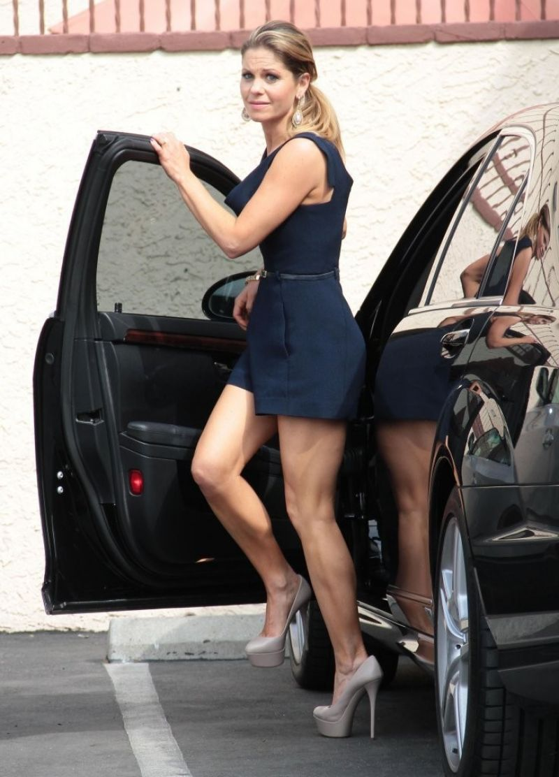 Candace Cameron Bure in Mini Dress - at