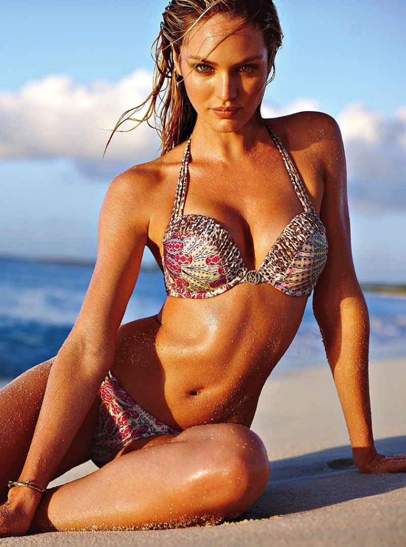 Candice Swanepoel - Bikini Photos – Beach Bunny – March 2014