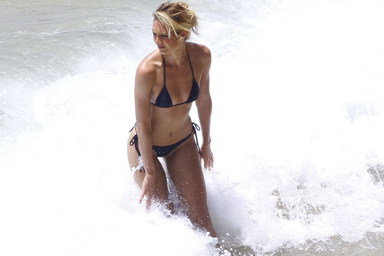 Candice Swanepoel in a Bikini - Photoshoot in Brazil - March 2014