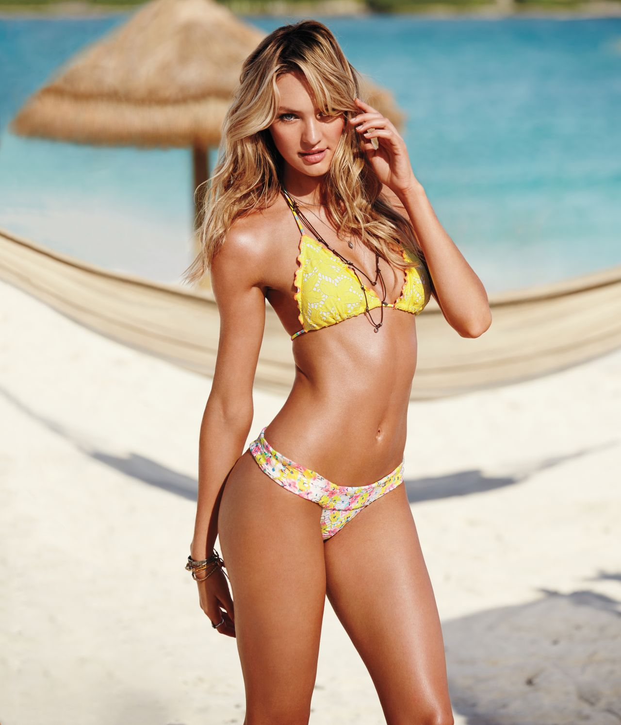 Candice Swanepoel Vs Launches 2014 New Swim Collection