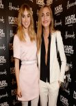 Cara Delevingne and Suki Waterhouse at Karl Lagerfeld Boutique Opening in London, March 2014