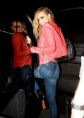 Carmen Electra Night Out Style – in Jeans at the Roxy Nightclub in LA