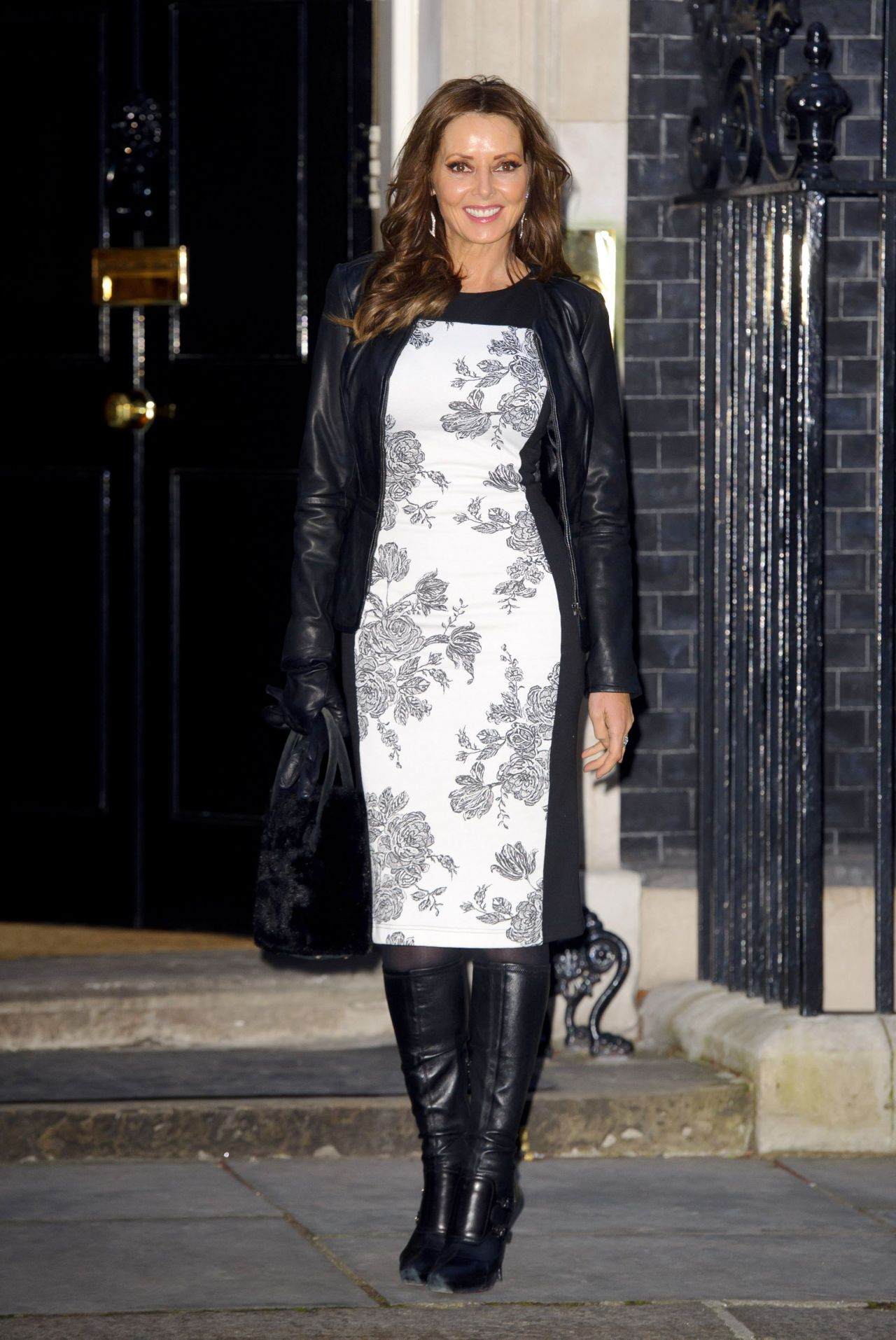 Carol Vorderman Downing Street London March 2014