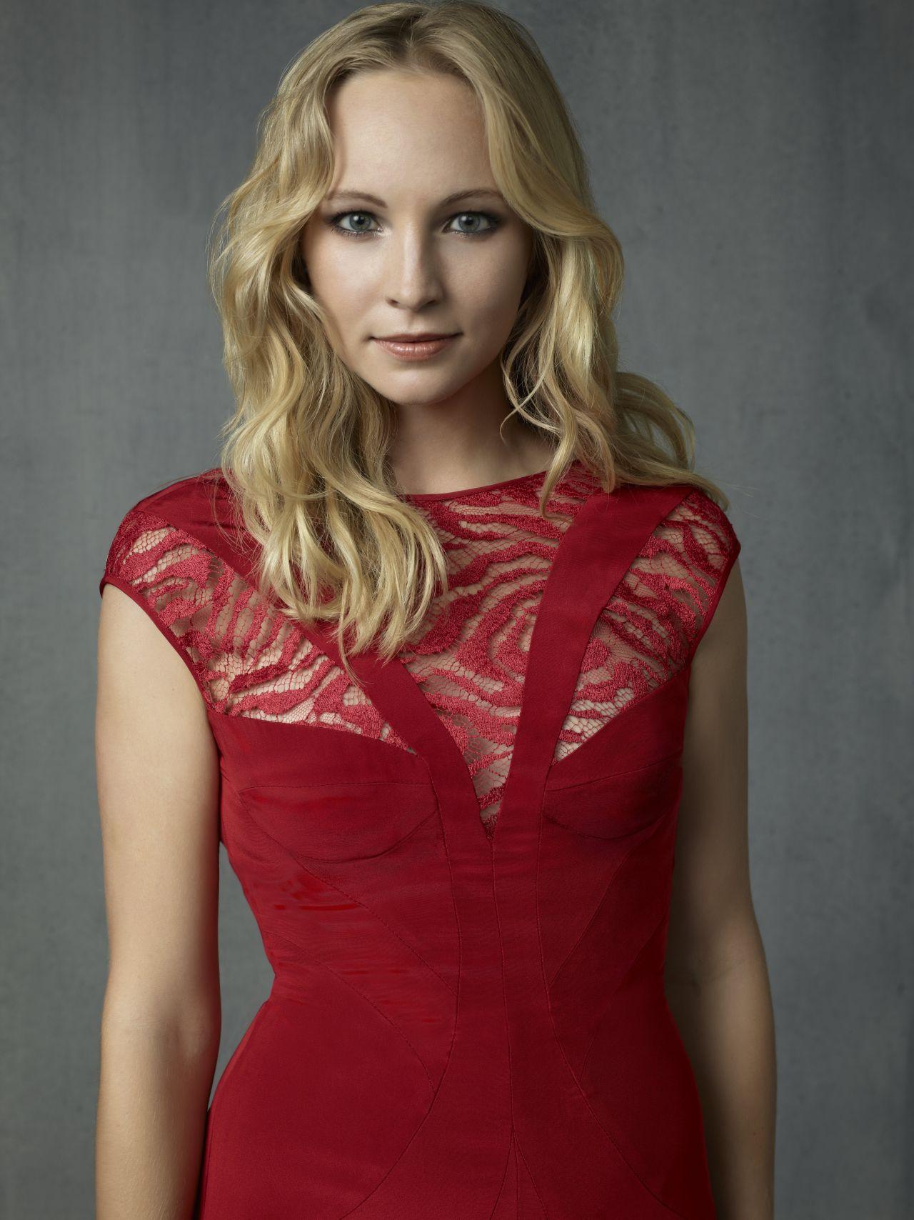Caroline Grey The Vampire Diaries Tv Series Season 4 Promo Photos