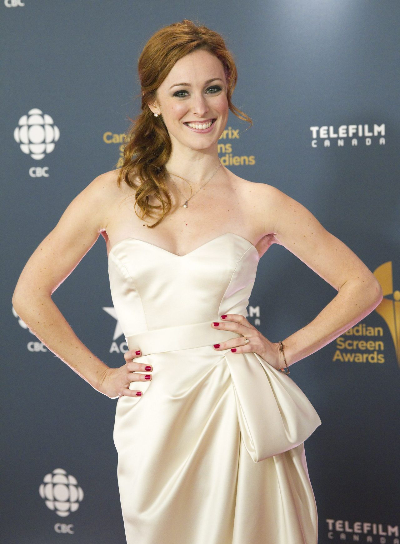 Carrie-Lynn Neales - 2014 Canadian Screen Awards