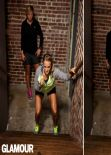 Carrie Underwood - Glamour Magazine Website Workout Photos