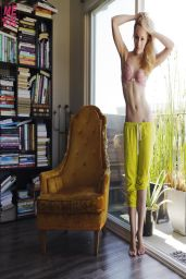 Cathy Baron - Photoshoot for Playboy / Me In My Place Collaboration - March 2014