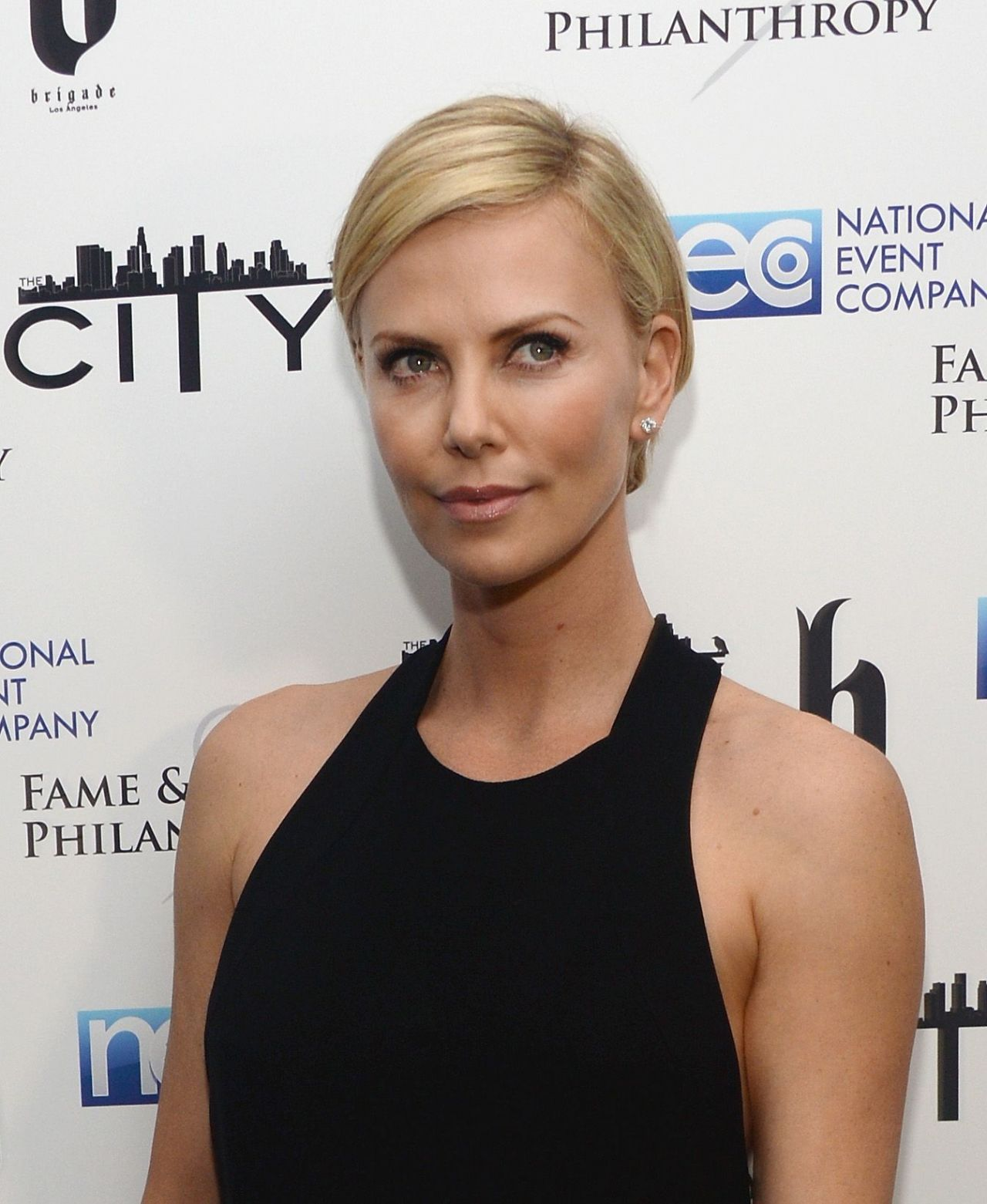 Charlize Theron - Fame and Philanthropy Post-Oscar Party