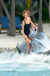 Charlize Theron in a Bikini - Photoshoot in Miami Beach, March 2014