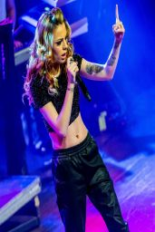 Cher Lloyd Performs at St. Andrews Hall in Detroit - March 2014