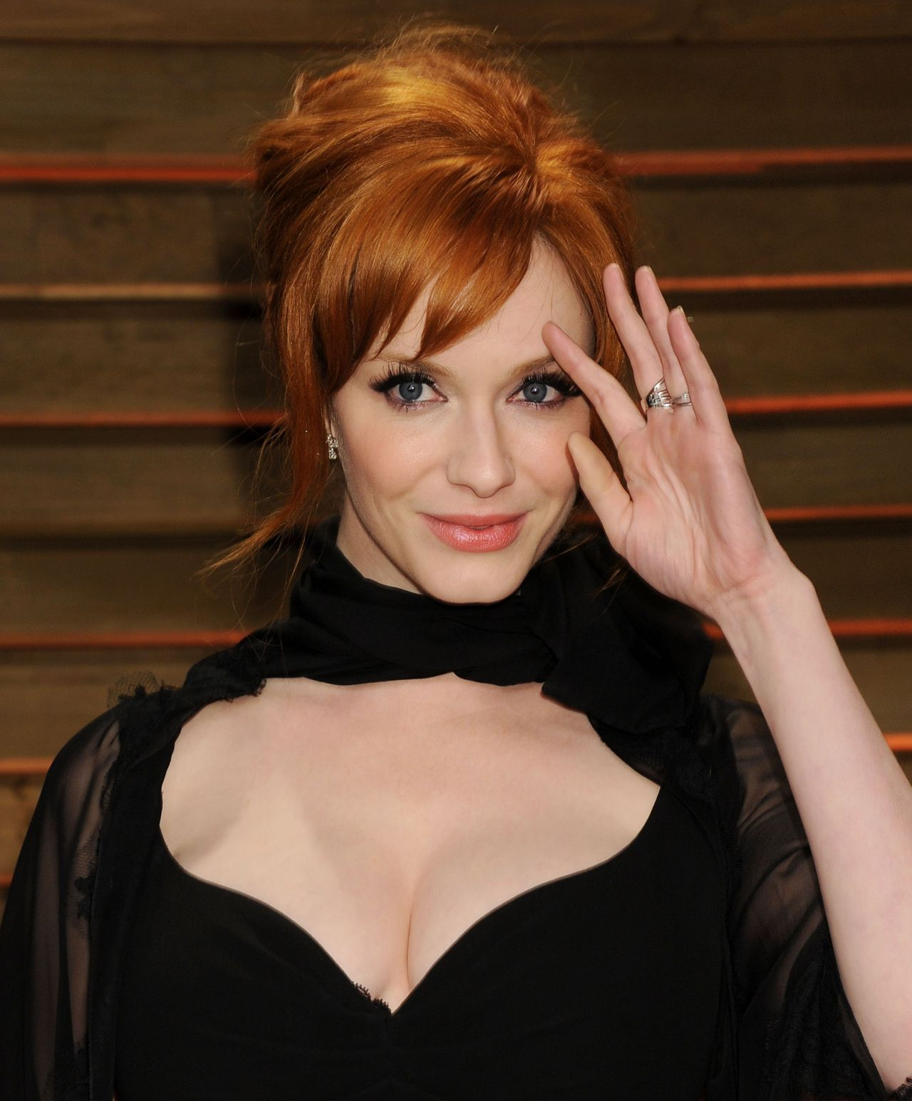 Christina Hendricks - 2014 Vanity Fair Oscar Party