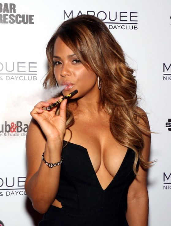 Christina Milian - 2014 Nightclub & Bar Convention And Trade Show in Vegas