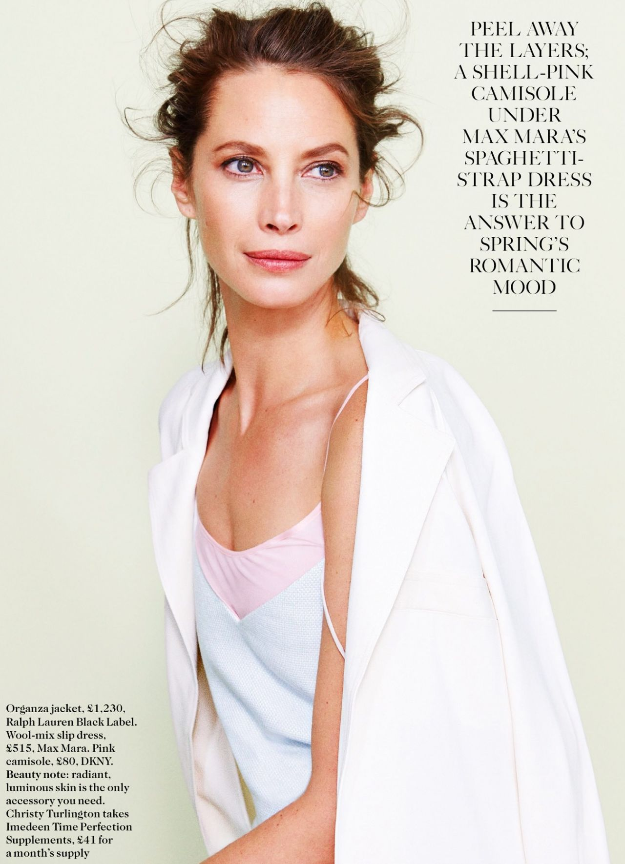 Christy Turlington - Vogue Magazine (UK) - April 2014 Issue