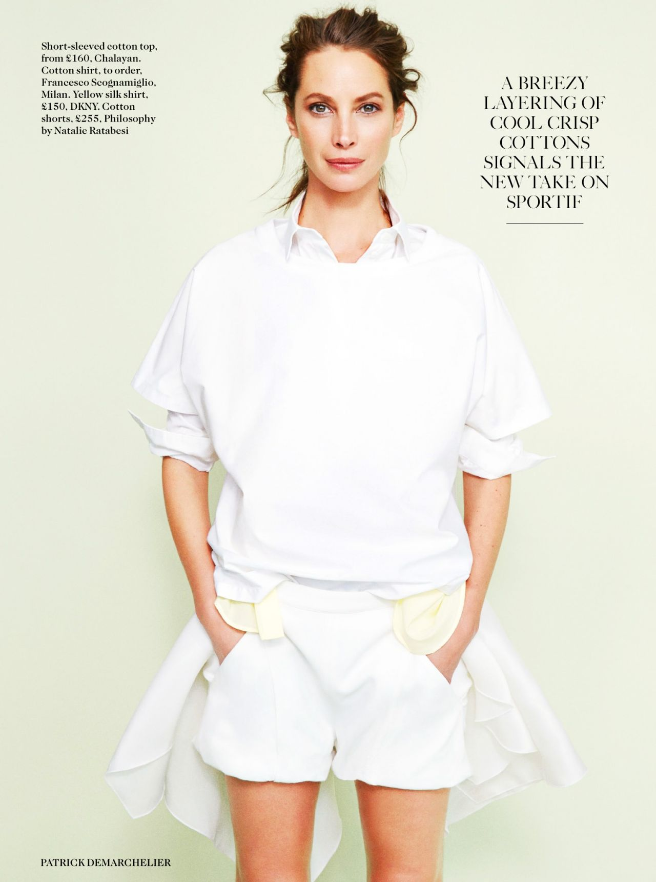 christy turlington vogue magazine uk april 2014 issue