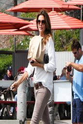 Cindy Crawford at Malibu Seafood - March 2014