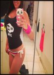 Claudia Romani in a Bikini - Facebook, March 2014