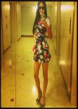 Claudia Romani in Mini Dress - Facebook Photoshoot, March 2014