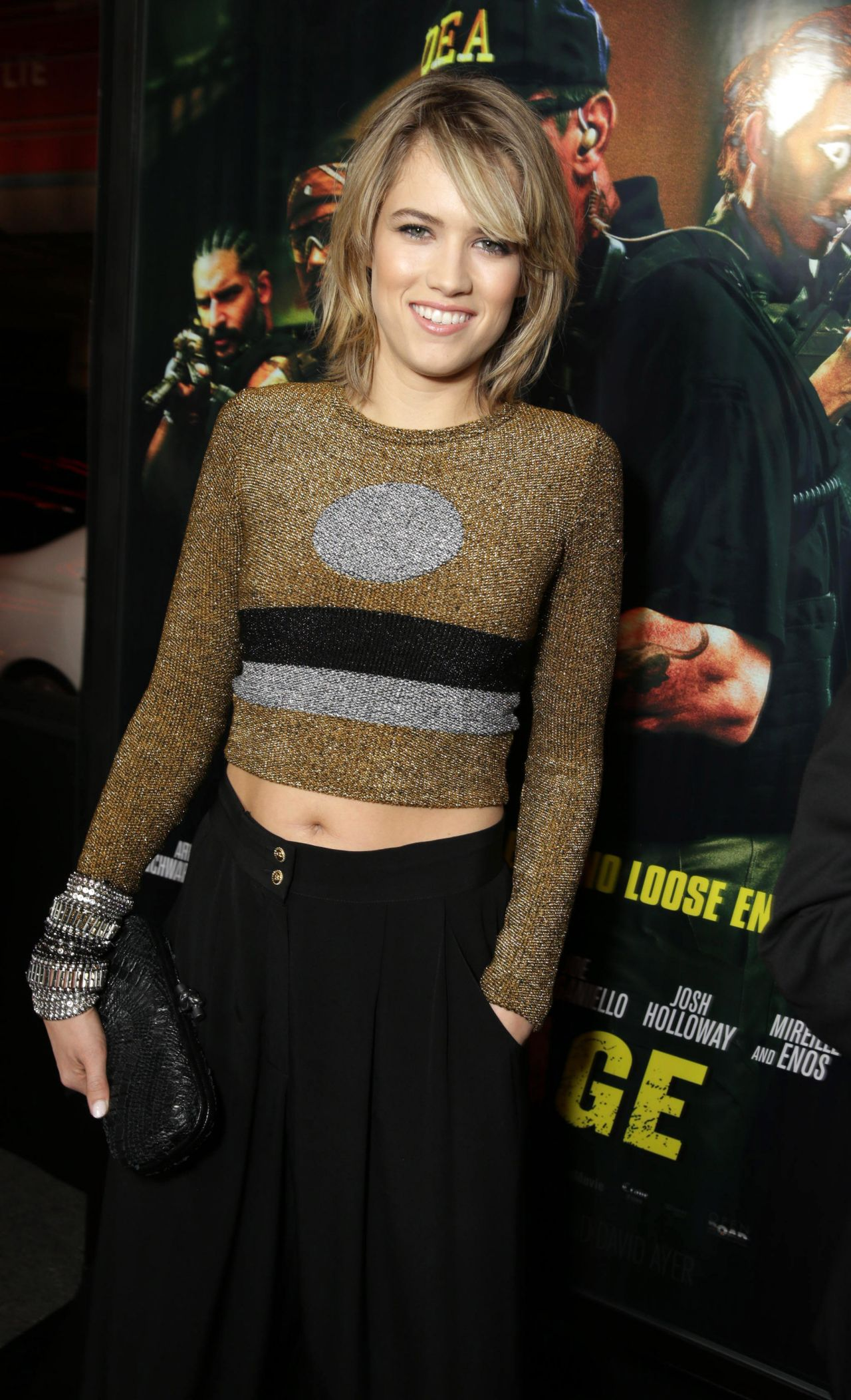 Cody Horn Sabotage Premiere In Los Angeles