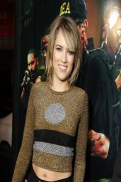 Cody Horn - 'Sabotage' Premiere in Los Angeles