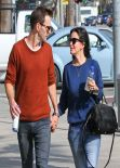 Courteney Cox in Jeans - Out in West Hollywood - March 2014