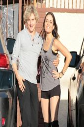 Danica McKellar at DWTS Rehearsal in Los Angeles, March 2014