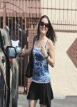 Danica McKellar Booty in Tights - DWTS Rehearsals in Hollywood