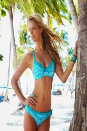 Danielle Knudson in Bikini - Bare Necessities Swimwear 2014