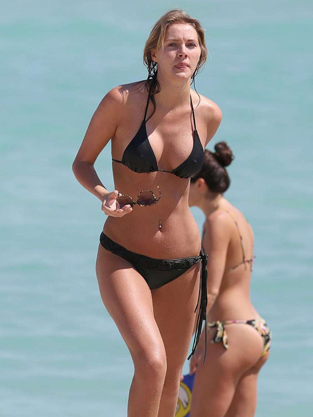 Deimante Guobyte Bikini Candids - Miami Beach - March 2014